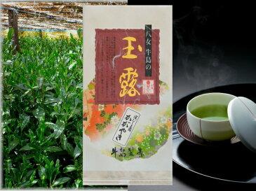 2018年新茶予約 八女玉露 定庵かがやき100g 福岡県 八女茶 茶葉 茶 日本茶 贈答 内祝 ポイント消化