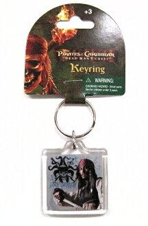 Monogram Pirates of the Caribbean 2 dead man's chest Jack key chain