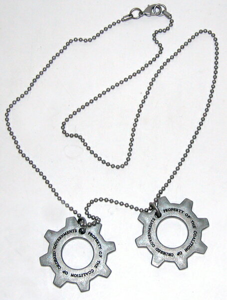 NECA GEARS OF WAR ギアーズオブウォー COG TAGS for US