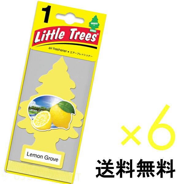 【ホールセール】レモン グローブ【まとめ買い】【リトルツリー】【Little Tree】【6枚セット送料無料】【Lemon Grove】 【芳香剤 車】