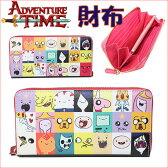アドベンチャータイム 長財布(パッチワーク:内装レッド) Adventure Time