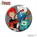 アドベンチャータイム 缶バッチ/ADVEVTURE ROCK A(75mm)「難波章浩」(Hi-STANDARD/NAMBA69)スペシャル限定コラボグッズ Adventure Time