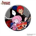 アドベンチャータイム 缶バッチ/ADVEVTURE ROCK B(75mm) 「難波章浩」(Hi-STANDARD/NAMBA69)スペシャル限定コラボグッズ Adventure Time
