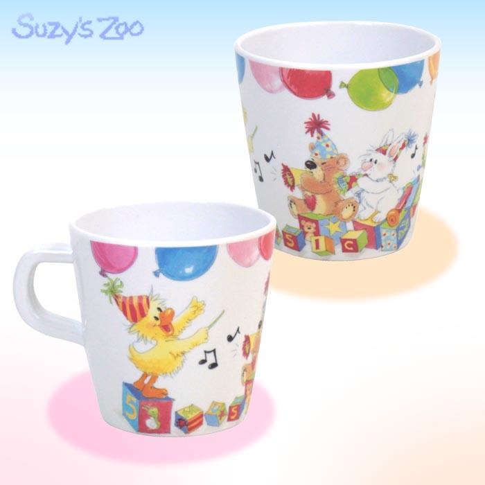 マグカップ(メラミン)/Suzy's Zoo(スージーズー)