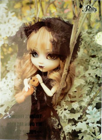 ぬいぐるみ・人形, 着せ替え人形 518 PP PullipNoir