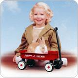 #5 Radio Flyer Little Red Wagon(即納可!)【RCP】【楽天カード分割】
