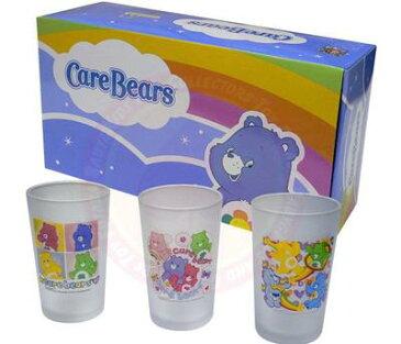ケアベア すりガラスグラス3ピース/Care Bears【RCP】【楽天カード分割】