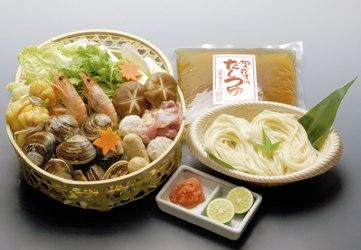 蛤うどんすき「宴」【ヒルナンデス!ご紹介のお取り寄せ鍋】