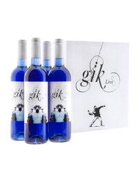 世界初の青ワインGik