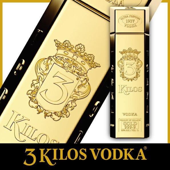 \日本初上陸 /酒ウォッカ金塊ゴージャスプレゼントパーティ3KilosVodkaGold999.9(スリーキロスウォッカ)インパ