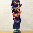 お部屋で飾れるのが嬉しい、こいのぼり。 縮緬工芸品をもっと身近に。子供の成長を願う贈り物として。【京都のつるし飾り ちりめん 鯉の滝のぼり(中)】つるし掛け,五月人形,兜,兜飾り,鯉のぼり,こいのぼり,室内用,五月人形