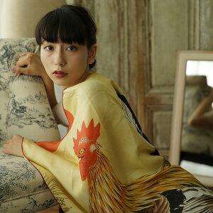 去年の浴衣も今年顔!ここでしか買えない!使いこむほどしっくり。【utatane日本製大正浪漫黒ベージュ矢がすりつばき×えんじ小袋帯染め帯細帯】浴衣、ファブリック着物、木綿着物にぴったり。ゆかた,レトロ,古典,大正ロマン,アンティーク,和装,和服,きもの,半幅帯