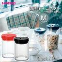 HARIO 珈琲キャニスター M ■ ハリオ 保存容器 耐熱ガラス 湿気防止 フードストッカー