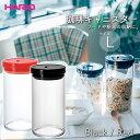 HARIO 珈琲キャニスター L ■ ハリオ 保存容器 耐熱ガラス 湿気防止 フードストッカー