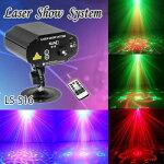 レーザービームレーザーステージライトRB(レッド・グリーン)二色レーザービームLS-S16舞台照明レーザー演出レーザーライト/ステージライト/ディスコ/舞台/演出/照明/スポットライト