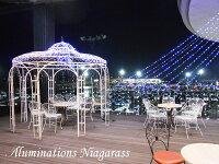 イルミネーションナイアガラネットライトドレープライトガーデンライト5m8本4種類同時発売滝カーテンライトクリスマスツリーミックスカラー
