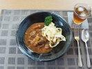 【和食器】うずしお《黒》24.5cm深皿【丸】【陶器】