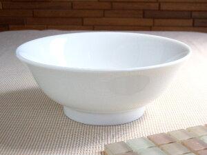 白さにこだわるあなたに!白磁21.5cmラーメン鉢【33%OFF】 【業務用】 05P25jun10