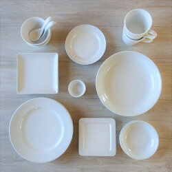 【アウトレット】【送料無料】お買得!白い食器のスターターペアセット(20ピース)食器アウトレット食器セット新生活訳あり洗浄機OKお得おしゃれオシャレ新婚カフェ安い激安おうちカフェおうち時間