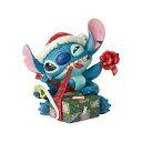 ディズニー・トラディションディズニーフィギュアサンタのスティッチ ラッピング[クリスマス][Christmas][Xmas][X'mas][プレゼント][サンタクロース]