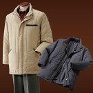 10ポケット多機能中綿コート