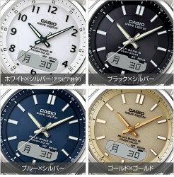 カシオ・電波ソーラー腕時計マルチバンド6【ソーラー電波腕時計CASIOメンズWVA-M630D通販限定】【送料無料】