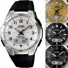 カシオ電波ソーラー腕時計マルチバンド6(M640)ラバーベルト【ソーラー電波腕時計CASIOwaveceptorWVA-M640-】