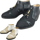 メンズアップシューズ・タッセルサマーブーツ【5cmアップメッシュシューズ靴メンズ4E】【送料無料】