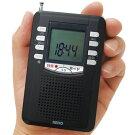録音ポケットラジオ【ラジオ録音マイクロSDカード対応ボイスレコーダーMP3RP13-453DZ】