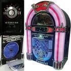 ジュークボックス型CDラジオ【SDUSBMP3再生CDラジオインテリアおしゃれKBYL-05】【父の日母の日敬老の日ギフト】【送料無料】