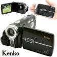 ケンコー デジタルムービーカメラIII 【SDカード 乾電池対応 ビデオカメラ VS-FUN】【プレゼント ギフト】【送料無料】 10P03Dec16