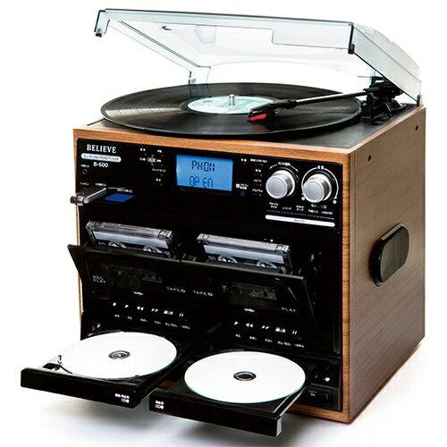 コンポ用拡張ユニット, レコードプレーヤー CD SD USB B-600