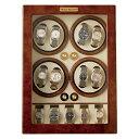 ロイヤルハウゼン・ワインディングマシン(8本巻き5本収納)【送料無料 収納ケース 自動巻き 時計 保管 ワインダー マブチモーター製 高級腕時計】