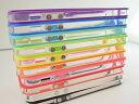 楽天iPhoneSE,iPhone5,iPhone5S用バンパー bumper 全10色から選べる ゆうパケット便送料無料!