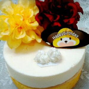フラワーレアーチーズケーキ