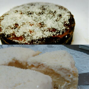 半生豆乳チーズケーキとジャーマンチーズケーキのセット