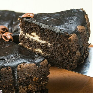 [チョコ チップチーズケーキ]チョコが三種類、シットリした美味しさは最高です。日持ちは冷蔵庫で3日、冷凍で20日保存可能です。本命の彼女へのお返しにぴったりです。