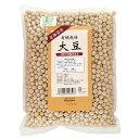 オーサワジャパン 有機栽培 大豆(北海道産) 1kg