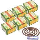 かえる印のナチュラルかとり線香 30巻入×6箱(ギフト包装な
