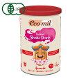 EcoMil エコミル 有機アーモンドミルク (パウダー 砂糖不使用) 400g オーガニック 白砂糖不使用 無添加 アーモンド ミルク| オーガニック食品 コレステロールゼロ グルテンフリー
