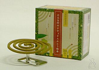 Kaeru Series Natural Mosquito Coil 30 coils