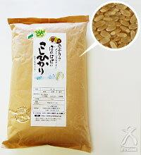 平成26年産 自然栽培農法「こしひかり」玄米(農薬・肥料不使用)5kg 有限会社ばんば