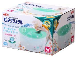 【特価】GEX ピュアクリスタル全猫用 ガーリーグリーン 1.8L[猫 用品]