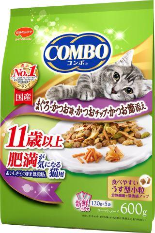 コンボキャット 肥満が気になる猫用 11歳以上 600g[コンボ 猫 キャットフード ドライ]