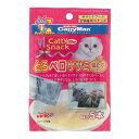 Vドラッグ 楽天市場店で買える「ドギーマン キャティースナックバリュー とろペロササミほたて 6g×5本[キャティースナックバリュー 猫用 おやつ]」の画像です。価格は108円になります。