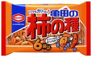 亀田の柿の種6袋200g