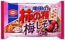 [毎]亀田の柿の種梅しそ6袋 182g×12個セット