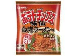辛い!ウマイ!どっちが勝つ?コイケヤ ポテトチップス 味仙台湾ラーメン味 袋62g