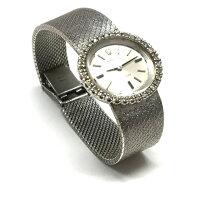 ロレックスROLEXプレシジョンダイヤベゼル手巻き腕時計cal.1400純正ブレス18K750ジャンクSSAWレディース【】【ベクトル古着】170503VECTOR×Refine