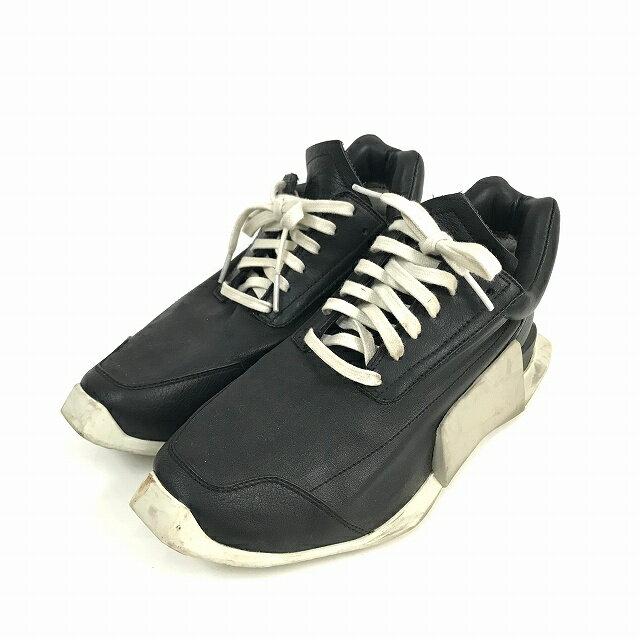 レディース靴, スニーカー  Rick Owens adidas 17SS RO LEVEL RUNNER LOW 22.5cm 36 23 180731 VECTORRefine